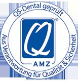 Logo Qualitätssiegel QS Dental